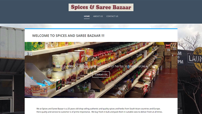 Spices and Saree Bazaar